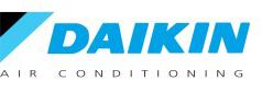 logo daikin luft til luft varmepumpe