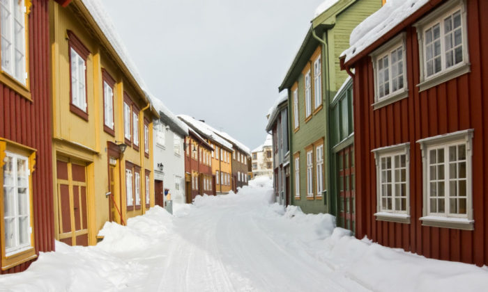 perfekt varmepumpe for norsk vær